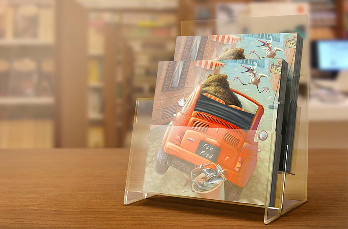 Буклет Флай фиш. Дизайн и верстка буклета от Alex Koin Design